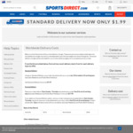 $2 Shipping @ Sports Direct