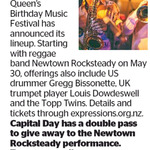 Win a Double Pass to Queen's Birthday Music Festival from The Dominion Post (Wellington)