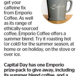 Win an Emporio Prize Pack (Coffee & a Mug) from The Dominion Post