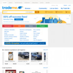 50% off Success Fees @ Trademe Saturday 2nd May