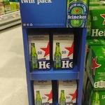 Buy Any Heineken Pack and Receive a Free Sample Twin Pack of Heineken 0.0 @ Countdown