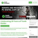Tomb Raider (2013) (PC) for US $1 Donation @ Gamechanger