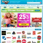 25% off Nearly Everything @ Toyco