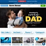 "Free 8"" X 12"" Photo for Dad @ Harvey Norman"