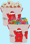2x Cookie Time Christmas 4L Buckets Loaded with 90 Fun Size Cookies $26 (Normally $80) @ Munchtime
