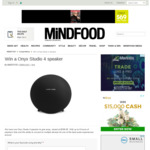 Win an Onyx Studio 4 Speaker from Mindfood