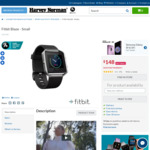 Fitbit Blaze $148 @ Harvey Norman
