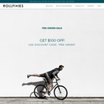 Rollfixies Bikes from $349 ($100 off) + Free Shipping @ Rollfixies