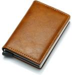 Antitheft Men Vintage Credit Card Holder Blocking Rfid Wallet $6.99 USD (~ $10.83 NZD) + Free Shipping @ Tomtop