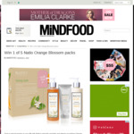Win 1 of 5 Natio Orange Blossom Packs (Worth $47.50) from Mindfood