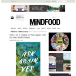 Win 1 of 7 copies of 'Ask Again, Yes' by Mary Beth Keane from Mindfood