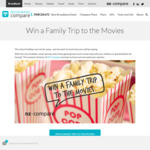 Win a Family Trip to The Movies from Broadband Compare