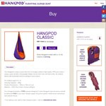Hangpod on 25% off Flash Christmas Sale
