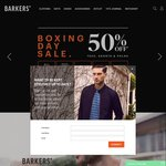 Barkers Boxing Day 20-50% Discount