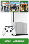 500GB Xbox One S Console Bundle Including Watch_Dogs 2, The Division and Farcry Primal $449 @ EB Games