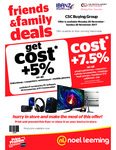 Noel Leeming - Friends & Family - Cost +5% & Cost + 7.5%