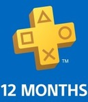 PlayStation Plus: 12 Month Membership $67.45 (25% off) @ PSN Store