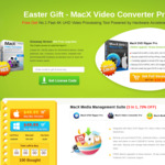 Free: MacX Video Converter Pro (Easter Giveaway)