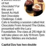Win 1 of 2 Double Passes to Hot Chocolate from around The Globe from The Dominion Post (Wellington)