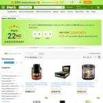 22% off Sports Products (52% off certain already discounted items) @ iHerb