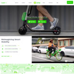 3x $1 Credits for Use on Lime Electric Scooters @ Lime Bike (Auckland, Christchurch)