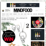 Win a Michael Hill Knots Collection Pendant and Earrings Set (Worth $258) from Mindfood