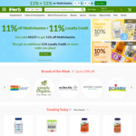 Black Friday Sale: 11% off Sitewide with code  + 11% Loyalty Credit @ iHerb