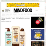 Win 1 of 5 Hawaiian Tropic Silk Hydration Sun Care Packs from Mindfood