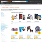 Up to 50% off Toys, Books, Homewares and More (e.g. Lightning Charge Cable for iPhone $3) @ MightyApe
