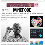 Win 1 of 10 Double Passes to Mandela My Life: The Official Exhibition from Mindfood