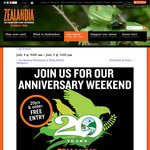 Free Entry for Anyone 20 or Younger (Normally $17.50 Adults / $9 Kids) July 4-5 @ Zealandia [Wellington]