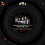 Free Pizza Delivery with $25 Spend @ Hell Pizza