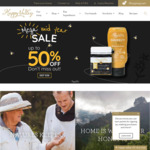 Midyear Sale - Up To 50% Sitewide (Mānuka Honey UMF® 15+ 375g $45 + $7 Delivery) Sign up for $10 on activation@ Happy Valley