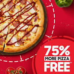 Free Upsize on Any Deluxe Pizza to XL @ Pizza Hut