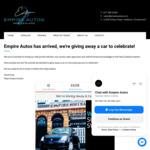 Win a Suzuki Swift from Empire Autos