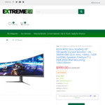 """ASUS ROG Strix XG49VQ 49"""" Ultrawide Curved Monitor $899.1 Pickup or Free Delivery @ ExtremePC or PC Force"""