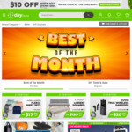 $10 off When You Spend $50 @ 1-Day.co.nz
