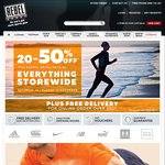 20% off Storewide Rebel Sport This Weekend 11-13 Nov 2016