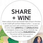 Win a $200 Wallace Cotton Gift Card from VIVA
