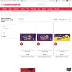 4 x 180-200g Cadbury Chocolate Blocks $10 Delivered @ The Warehouse