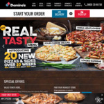 40% off Pizzas (Excludes Value, Extra Value & Spicy BBQ Pork) @ Dominos