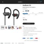 Audbum S1 Bluetooth in-Ear Headphones Pr-Sale (Grey/Red) - US $12.99 (~NZ $13) + Free Shipping @ Audbum.com