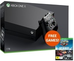 Xbox One X + Free Bonus Steep and The Crew Game Tokens  $648 from MightyApe