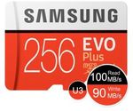 SAMSUNG EVO Plus Micro SD Memory Card 64GB US$15.03/NZ$23,128GB US$28.33/ NZ$43.4, 256GB US$58.33/NZ $89.4 Shipped @GearVita