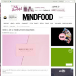 Win 1 of 5 $50 Redcurrent Vouchers from Mindfood