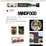 Win 1 of 4 Kare Honey Prize Packs (Worth $80) from Mindfood