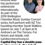 Win a Double Pass to See Andrew Beer from The Dominion Post (Wellington)