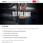 Free Entry on Weekends through March @ Les Mills