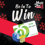 Win a $100 Countdown Voucher, 2 Effects Food Flask Insulated, + 2 Packets of Maggies Cup of Noodles from Multi Kai Cooker