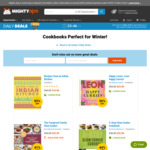 40-85% off Cookbooks (+ Shipping) @ Mighty Ape